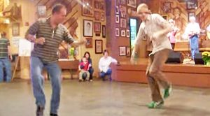 Country Boys Tear Up The Dance Floor With Epic Bluegrass Dance
