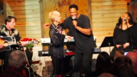 """Charley Pride's Son Dion Honors Him With 'Kiss An Angel Good Mornin"""" At Texas Show 