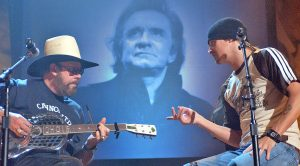 Hank Williams Jr. & Kid Rock Pay Tribute To Johnny Cash With 'There Ain't No Good Chain Gang'