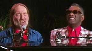 Willie Nelson & Ray Charles Mystify Crowd With Beautiful 'Seven Spanish Angels' Duet