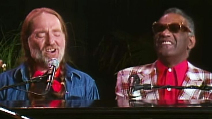 Willie Nelson & Ray Charles Perform 'Seven Spanish Angels' Duet | Classic Country Music Videos