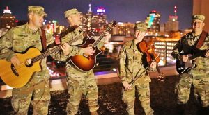 "Six-String-Soldiers Put Their Own Twist On Willie Nelson's ""Texas on a Saturday Night"""