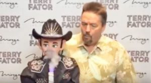 Singing Ventriloquist Terry Fator Delivers Willie Nelson Impression