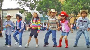 Tiny Cowboys and Cowgirls Perform Cute As Can Be Line Dance To 'Achy Breaky Heart'