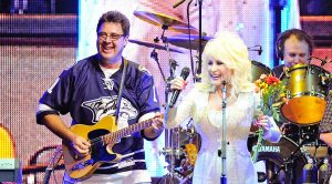 Vince Gill Gives Lowdown On Amusing Events That Led To His Dad Meeting Dolly Parton