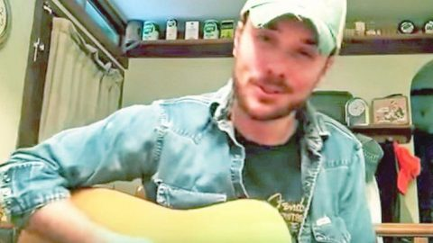 Handsome Cowboy Bleeds Country During Impressive Alan Jackson Cover | Classic Country Music Videos