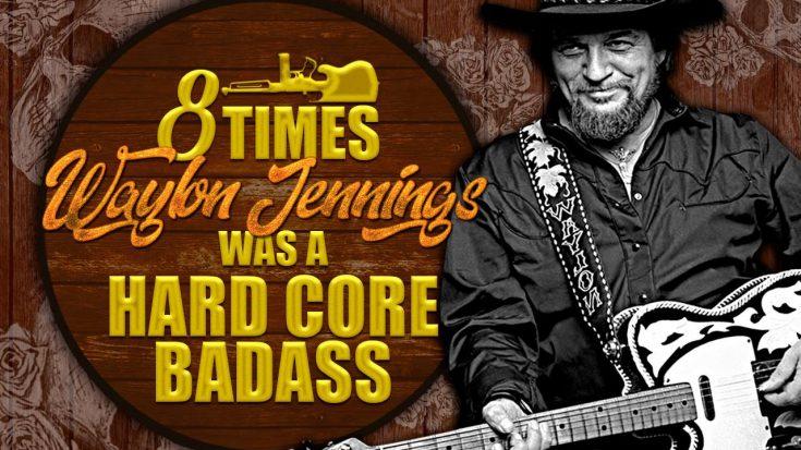 8 Times Waylon Jennings Was A Hard Core Badass | Classic Country Music Videos