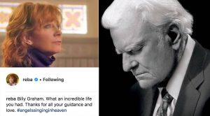 Reba McEntire Heartbroken Over Billy Graham's Death