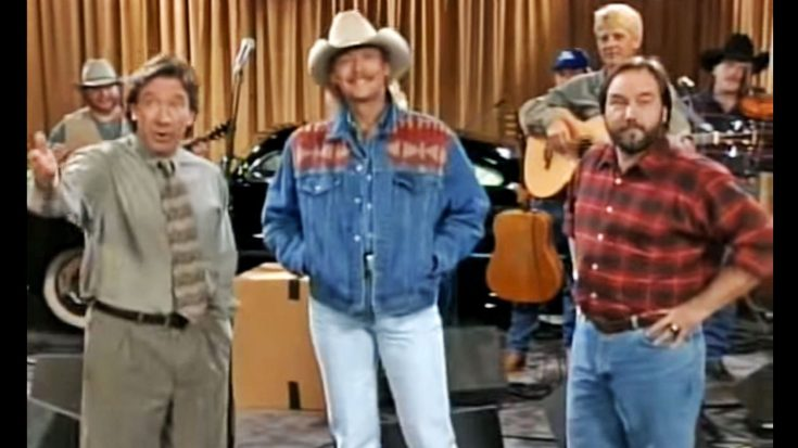 "Alan Jackson Stuns With Surprise Appearance On '90s Sitcom ""Home Improvement"" 
