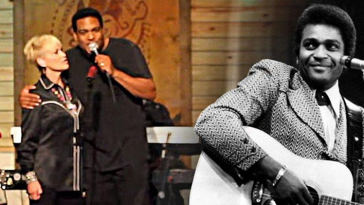 Charley Pride's Son & Lorrie Morgan Deliver Beautiful Tribute With 'Kiss An Angel Good Mornin""