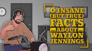 6 Insane (But True) Facts About Waylon Jennings