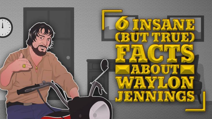 6 Insane (But True) Facts About Waylon Jennings | Classic Country Music Videos