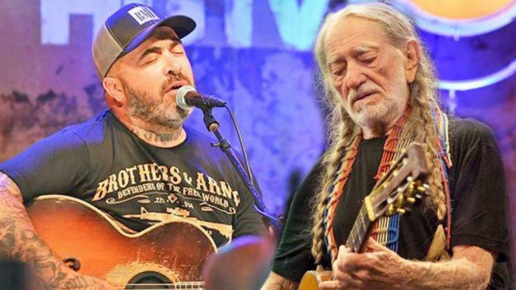 Aaron Lewis' Duet 'Sinner' With Willie Nelson Bridges The Gap Between Modern And Classic Country