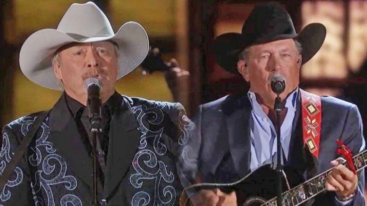 Alan Jackson and George Strait Perform Legendary Duet Of Their Hits | Classic Country Music Videos