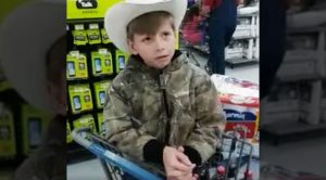 Unsuspected Little Boy Serenades Walmart With Outstanding Hank Williams Mashup