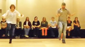 Country Folks Sport Some Fancy Footwork In Fiery Line Dance To Trace Adkins' 'Lit'