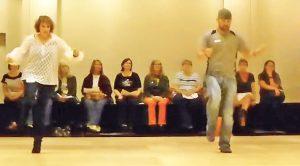 Country Folks Sport Some Fancy Footwork In Fiery Line Dance To Trace Adkins' 'Lit'