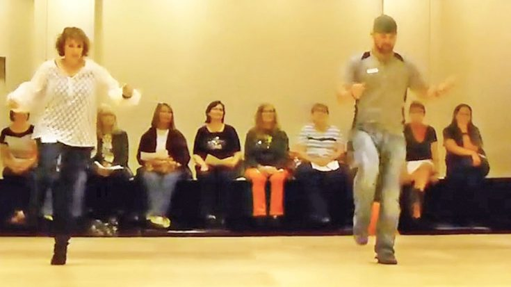 Dancers Show Off Line Dance Set To Trace Adkins' 'Lit' | Classic Country Music Videos