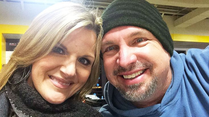 Trisha Yearwood Digs Up Old Photo With Garth Brooks & It's Absolutely Priceless | Classic Country Music Videos