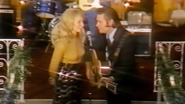 George Jones Teases Tammy Wynette During 'The Ceremony' Duet In 1972 | Classic Country Music Videos