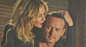 "Tim McGraw & Faith Hill Get Hot & Heavy In Steamy Music Video For ""Speak To A Girl"""