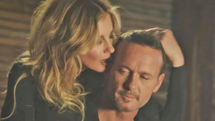 """Tim McGraw & Faith Hill Get Hot & Heavy In Steamy Music Video For """"Speak To A Girl"""" 
