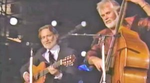 "A Short-Haired Willie Nelson Joins Forces With Kenny Rogers For 1989 ""Blue Skies"" Duet"