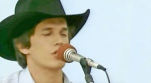 Young George Strait Singing His Flirty Country Hit Will Leave You Blushing