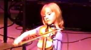 Fearless 7-Year-Old Sports Fiddle-Playing Skills From Out Of This World