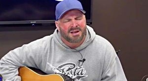 Watch Garth Brooks' Tearful Performance Of Unreleased Song