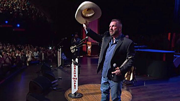 Garth Brooks Makes Rare Appearance At Opry For One Important Reason