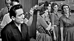 Johnny Cash & Carters Sing 'Were You There When They Crucified My Lord'