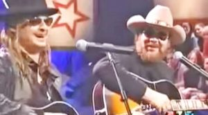 Kid Rock & Hank Williams Jr. Jam Out To 'Whiskey Bent And Hell Bound'