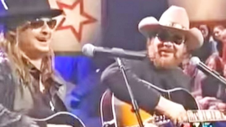 Kid Rock & Hank Williams Jr. Jam Out To 'Whiskey Bent And Hell Bound' | Classic Country Music Videos