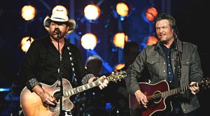 Blake Shelton & Toby Keith Sing 'Should've Been A Cowboy' At ACM Awards & It's Badass