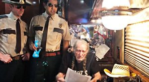 Super Troopers Hold Willie Nelson Hostage