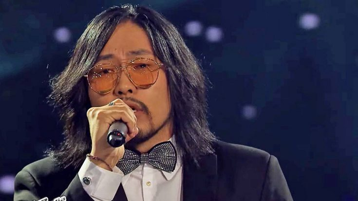 """Talented Mongolian Man Delivers Thundering Version Of Kenny Rogers' """"Lady"""" 