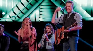 "Blake Shelton & ""Voice"" Star Unleash Growling Tribute To Tanya Tucker"
