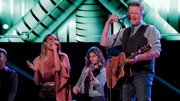 "Blake Shelton & ""Voice"" Star Unleash Growling Tribute To Tanya Tucker 