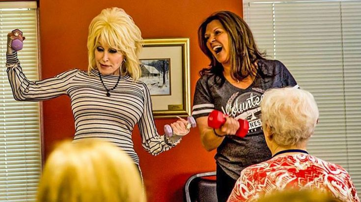 Dolly Reveals Best Kept Secret During Surprise Visit To Senior Center | Classic Country Music Videos