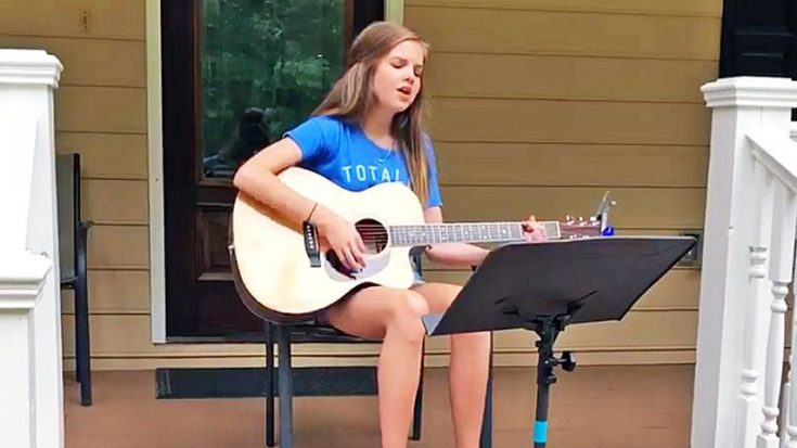 """Talented Teen Gives Carrie Underwood A Run For Her Money With """"I Told You So"""""""