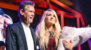 Randy Travis Makes Surprise Appearance To Honor A Tearful Carrie Underwood