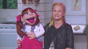Darci Lynne & Puppet Sing For Kellie Pickler On Set Of Her Talk Show
