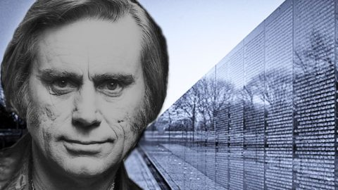 George Jones Pays Tribute To Fallen Soldiers In '50,000 Names Carved In The Wall' | Classic Country Music Videos