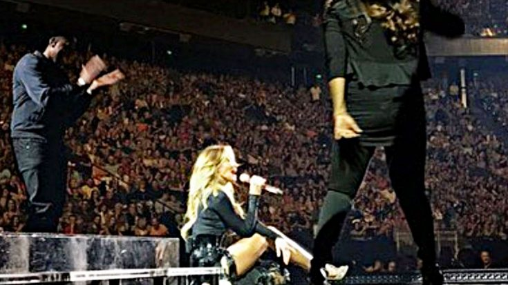Faith Hill Demands Respect, Sits Down Mid-Concert   Classic Country Music Videos