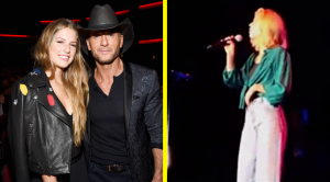 Faith Hill's Daughter Joins Her On Tour & They're Basically Twins On Stage