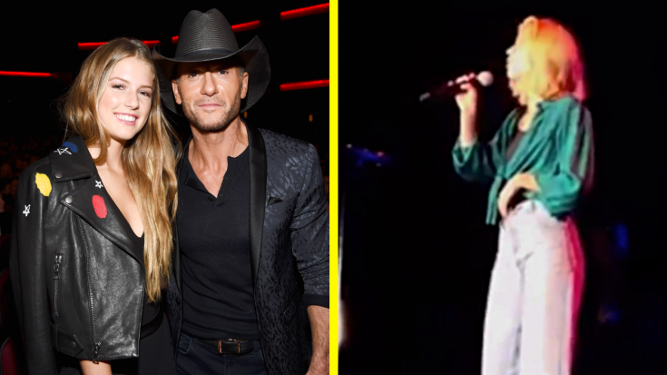 Faith Hill's Daughter Joins Her On Tour & They're Basically Twins On Stage | Classic Country Music Videos