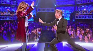 Derek Hough Pretends To Propose To Shania Twain In 'From This Moment' Serenade On 'Lip Sync Battle'