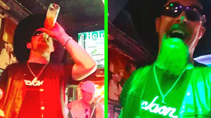 Watch What Goes Down After Waylon's Grandson Walks Into A Bar