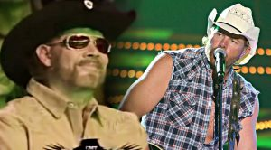 Toby Keith Unleashes Powerful Hank Jr. Cover Right In Front Of Him